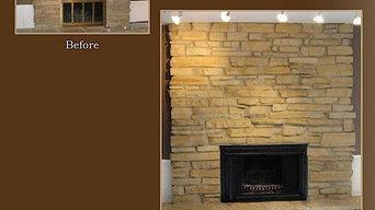 Arlington Heights Fireplace Painting Alternative