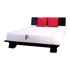 Takuma Platform Bed, Dark Walnut, King