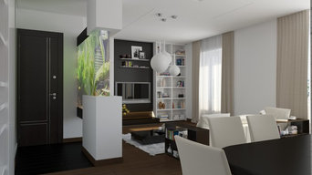 Apartment on Leninskiy Ave. in Moscow, Russia