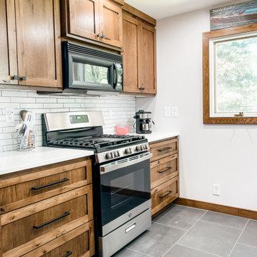 Bass Lake Kitchen and Bath Remodel