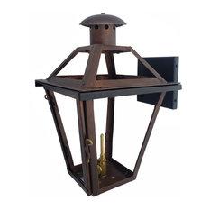 French Quarter Copper Lantern Made in the USA, Black Oxidation, 17, Propane (Lp)