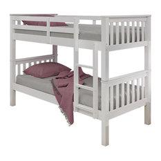 Novaro Bunk Bed, Semi Gloss White