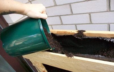 DIY : Recycler une palette en potager vertical pour le balcon