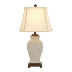 woodland imports dotted body ceramic table lamp table lamps