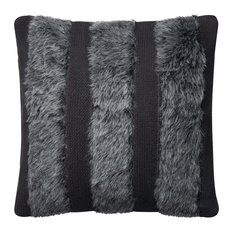 Loloi Cotton Accent Pillow, Gray, 22  x22