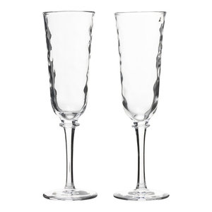 2019 New Style Galway Champagne Flutes Crystal Stemware Set Of 2 Sale Overall Discount 50-70% Antiques