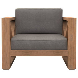 Transitional Outdoor Lounge Chairs by Cavan