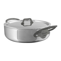 Mauviel M'Cook Stockpot With Lid, Cast Iron Handles