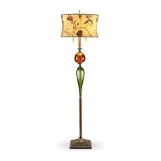 James, Round, Floor Lamp