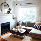 Front Parlor Transitional Living Room New York By