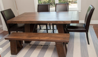 Reclaimed Chestnut and Ash Dining Table
