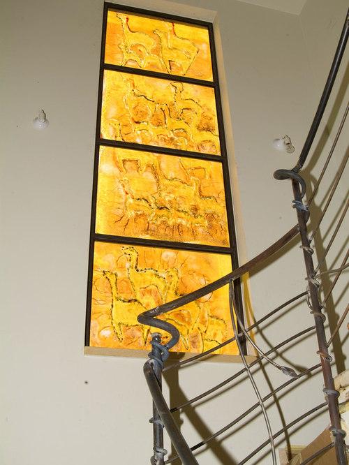 Awesome Modern Glass Wall Art Frieze - All About Wallart ...