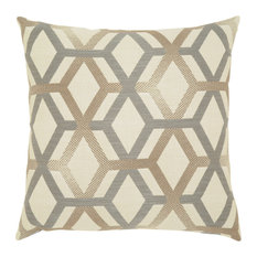 Elaine Smith - Elaine Smith Lustrous Lines Pillow - Outdoor Cushions and Pillows