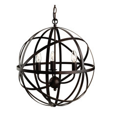 Castle Triple Light Pendant