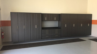 A Repeat Customer Gets A Remodeled Storage Cabinets Garage For Their Renovated H