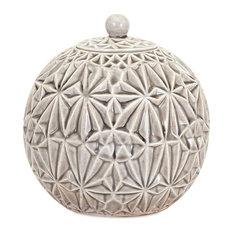 Imax 14113 Bogota Ceramic Canister, Large