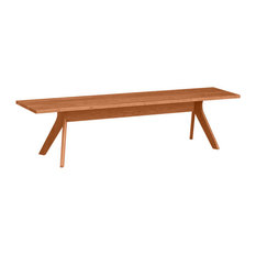 """Audrey 60"""" Bench in Cherry by Copeland Furniture, Natural Cherry"""