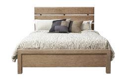 Flatbush Plank-Style Bed, King/California King