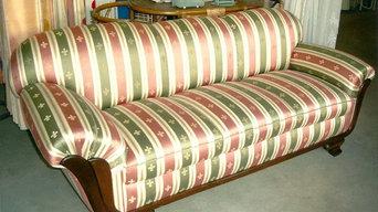 Restaurierung eines Sofas - Nachher