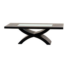 cocktail table - X-shaped