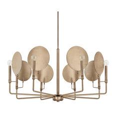 Capital Lighting 427781AD Wells Chandelier, Aged Brass