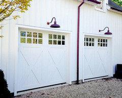Gooseneck Light Above Garage Door Best Size And Placement