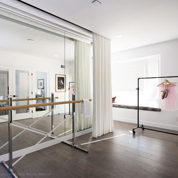 PHOTOGRAPHY AND BALLET STUDIO   Contemporary Home Remodel Part One