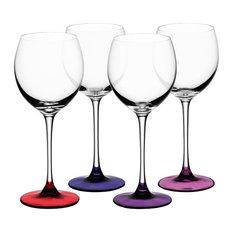 LSA Coro Wine Glasses, Berry, 4-Piece Set
