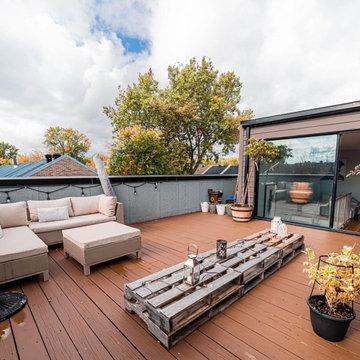 Aménagement d'un toit-terrasse