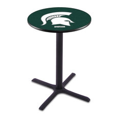 Michigan State Pub Table by Holland Bar Stool Company