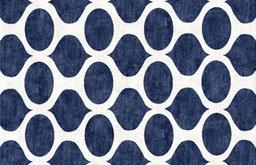 Opaque Blue Cutsom Rug