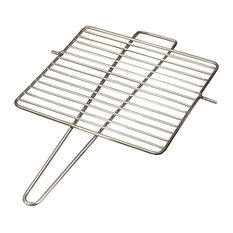 Fidibus Outdoor Fire Pit, Grill Grate and Bracket