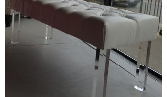 Lucite Bench
