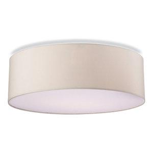 Phoenix Classic Flush Ceiling Light, Cream