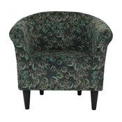 Savannah Club Chair, Peacock
