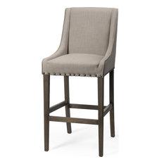 Kensington Bar Chair - Cream