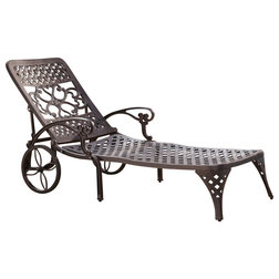 Superb Traditional Outdoor Chaise Lounges by Home Styles Furniture
