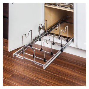 Hardware Resources MPPO215-R 15 Inch Base Cabinet Cookware Pull Out Organizer
