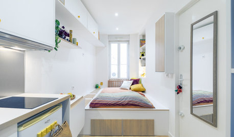 Before & After: A 9-Square-Metre Studio & Not One Right Angle