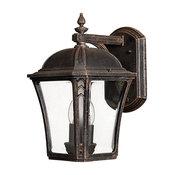 Wabash Outdoor Vintage Wall Lantern, Large
