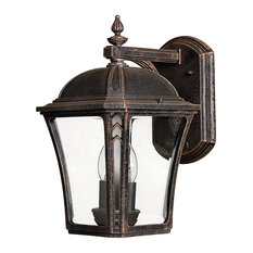 Wabash Outdoor Vintage Wall Lantern, Large