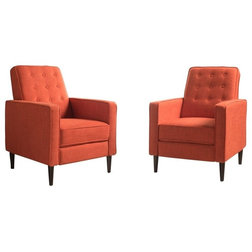 Midcentury Recliner Chairs by GDFStudio