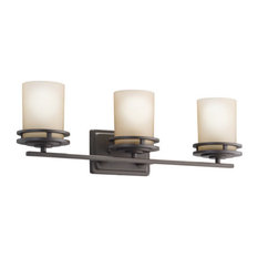 "Kichler 5078OZ Hendrik 24""  3 Light Bathroom Lighting Fixture"