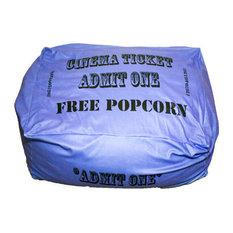 Blue Movie Ticket Beanbag, Toddler