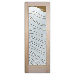 Interior Glass Door Sans Soucie Art Glass Dreamy Waves