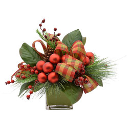 Rustic Artificial Flower Arrangements by Creative Displays & Designs, Inc.