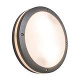 Ceiling/Wall Lamp Glow Round Dark Grey