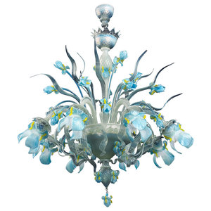 Elsa Murano Glass Chandelier