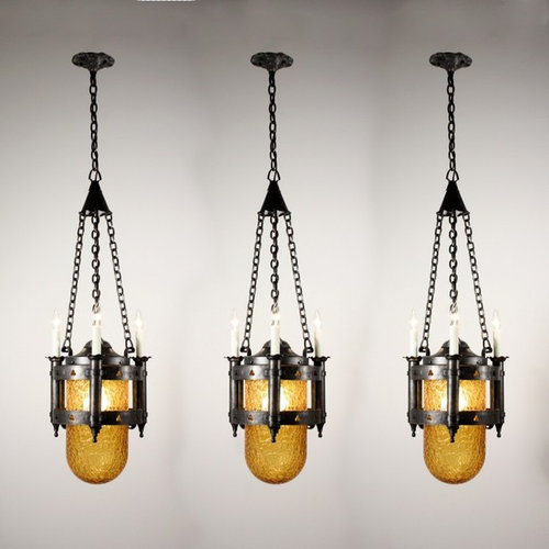 Antique Gothic Revival Lighting