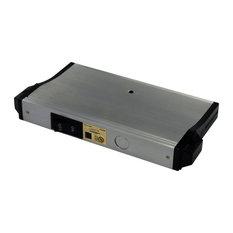 Eco-Counter Edgelit LED, Master Switch Accessory, Satin Aluminum